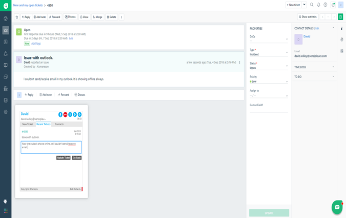 New APIs to forward tickets and a brand new SKYPE integration