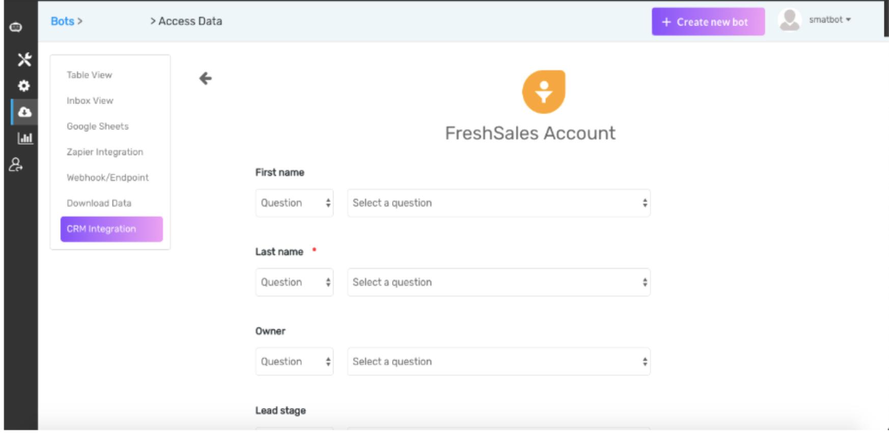 Smatbots - Freshworks Marketplace