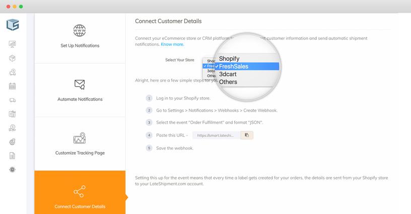 LateShipment com - Freshworks Marketplace